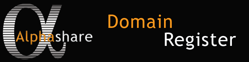 Alphashare Domain Register
